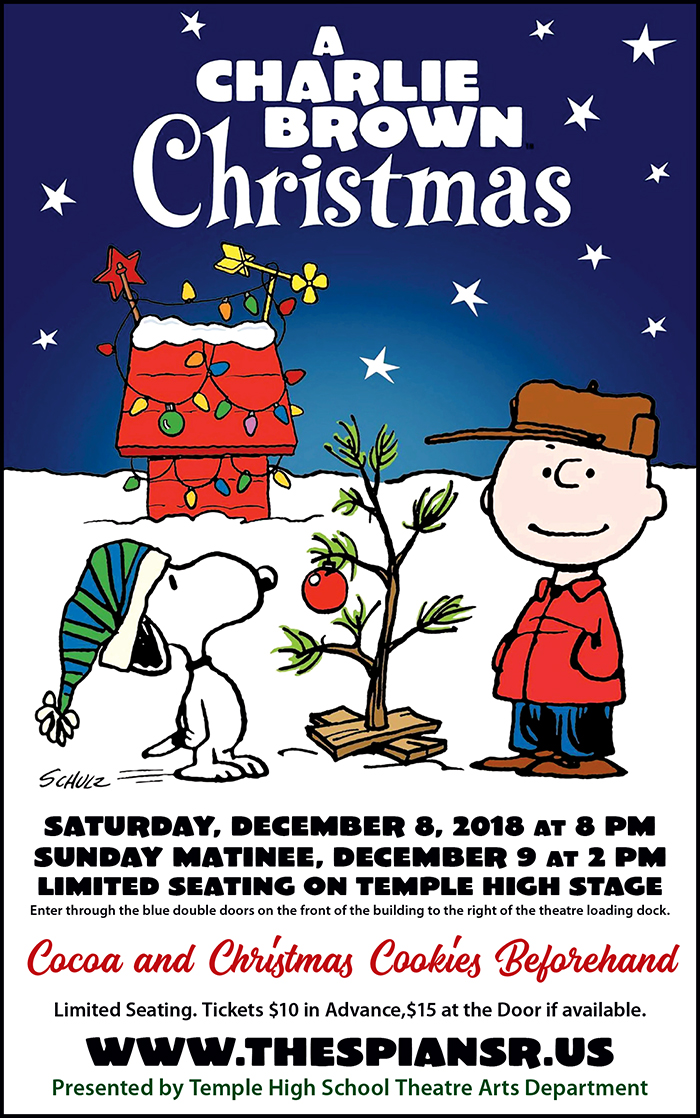 Information Page About A Charlie Brown Christmas